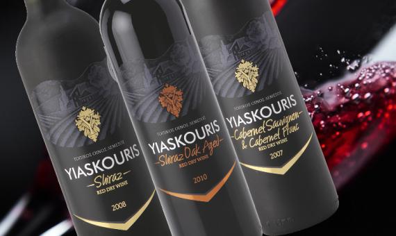 Yiaskouris Wine Label